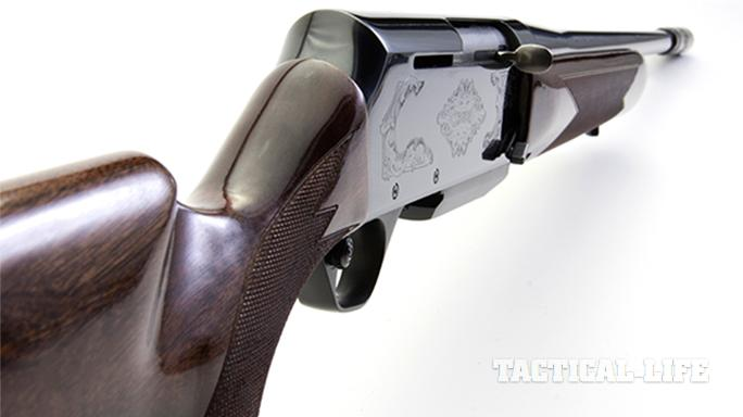 Browning BAR Mark II Safari rifle buttstock