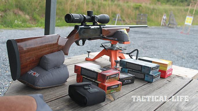 Browning BAR Mark II Safari rifle bench test