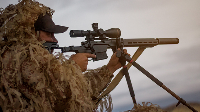 Christensen Arms Modern Precision Rifle shooting