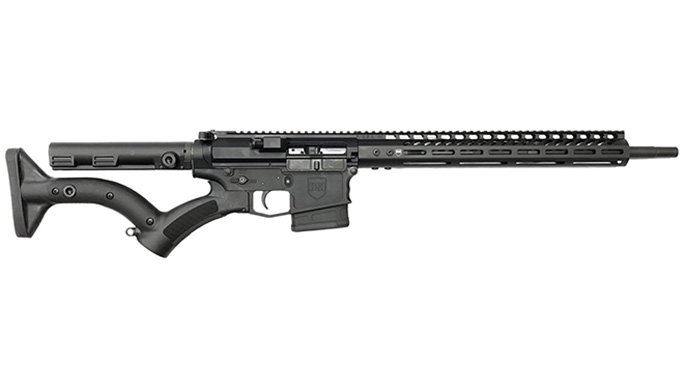 dark storm ds-10 typhoon featureless black rifle left profile