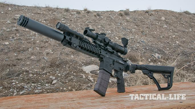 daniel defense ar rifle left angle