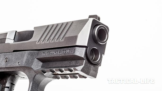 FN 509 pistol serrations