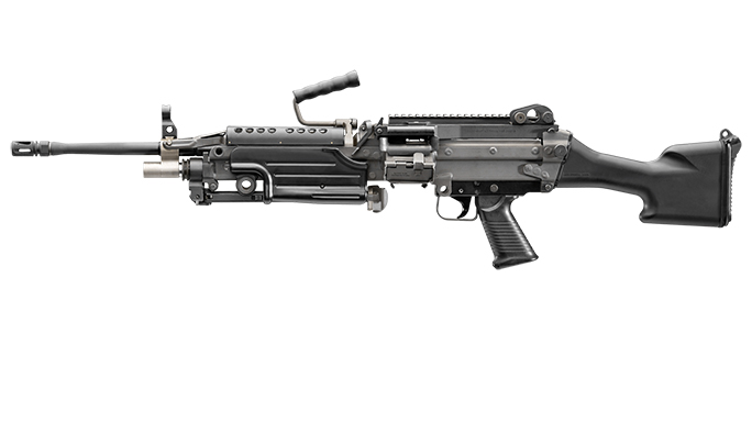 FN M249S rifle left profile
