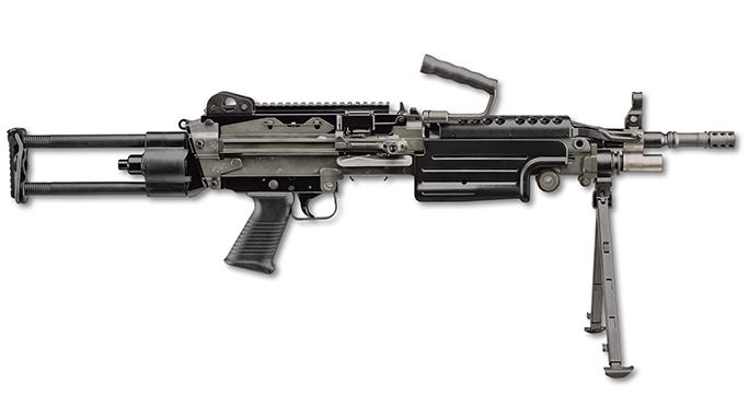FN M249S PARA rifle right profile