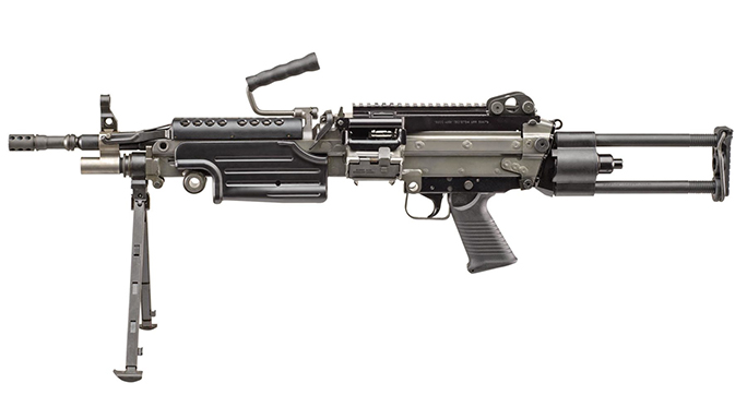 FN M249S PARA rifle left profile