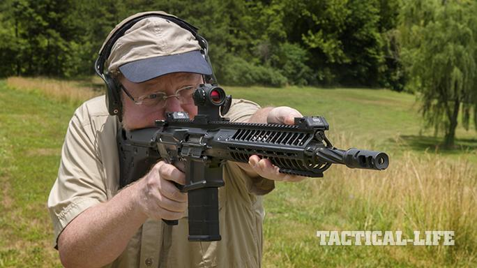 LWRCI REPR MKII rifle test