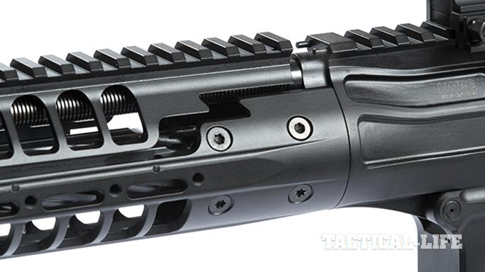 LWRCI REPR MKII rifle rail