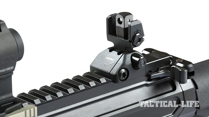 LWRCI REPR MKII rifle sights