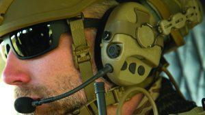 safariland liberator iv headset closeup