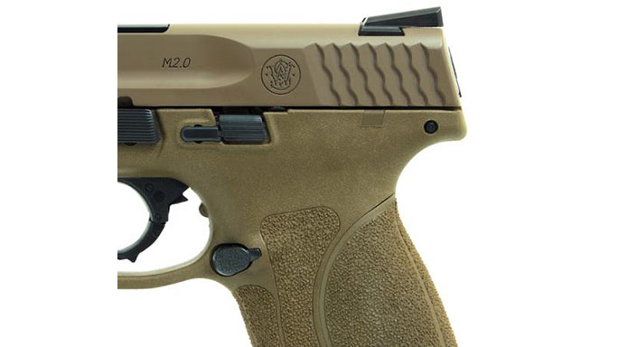 Smith & Wesson M&P M2.0 Pistol with TruGlo TFX Sights rear sight