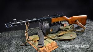 Soviet PPSh-41 submachine gun