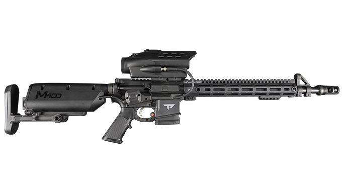 TrackingPoint M400 black rifles