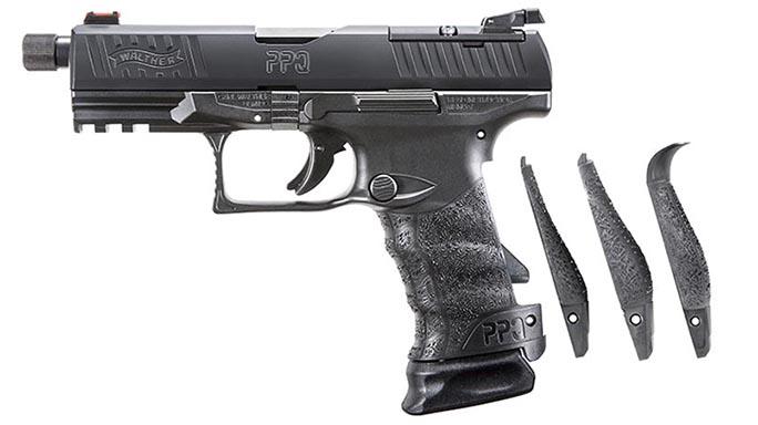 Walther PPQ M2 Q4 TAC pistol backstraps