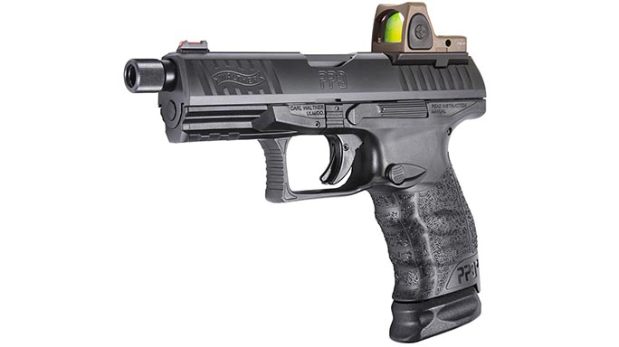 Walther PPQ M2 Q4 TAC optic attached