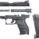 Walther PPQ M2 Q4 TAC pistol disassembled