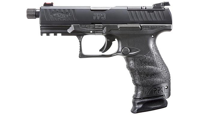 Walther PPQ M2 Q4 TAC pistol left profile
