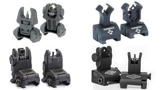 NEW BACKUP iron sights for rifles