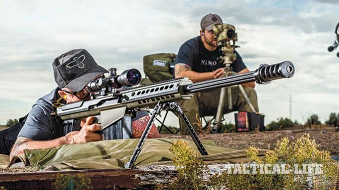 New Zealand Defense Force barrett MRAD and M107A1