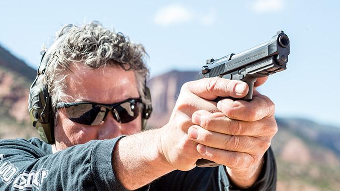 Beretta Wilson Combat 92G Centurion Tactical Pistol rendezvous lead