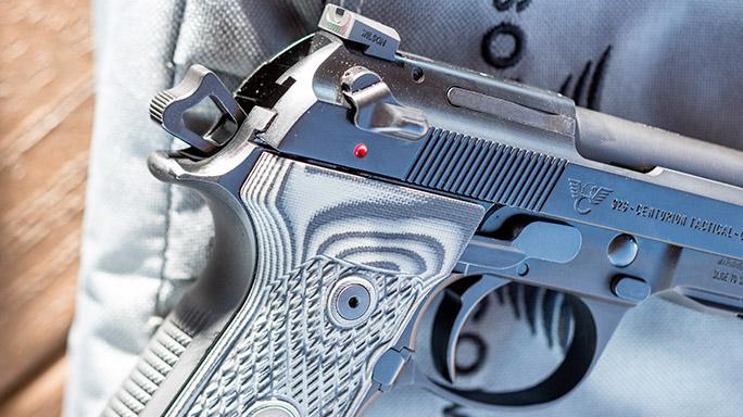 Beretta Wilson Combat 92G Centurion Tactical Pistol rendezvous rear