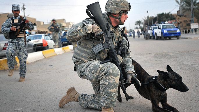 army EPM rifle magazines kneeling
