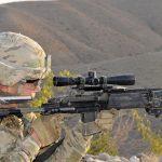 army interim combat service rifle right profile