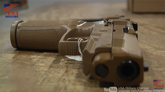 us army m17 m18 pistol side view