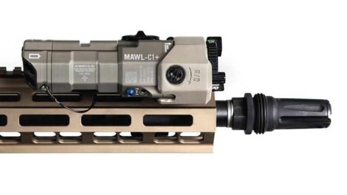 B.E. Meyers FDE MAWL LASER device right profile