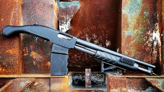 Black Aces Shockwave Magazine Fed 12-Gauge firearm