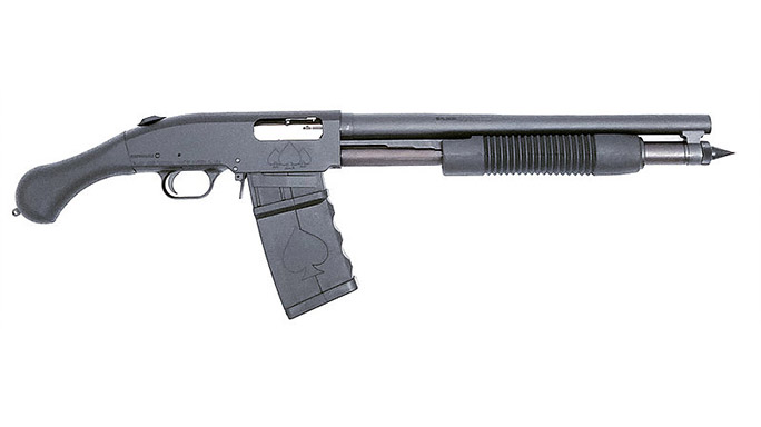 Black Aces Shockwave Magazine Fed 12-Gauge firearm right profile