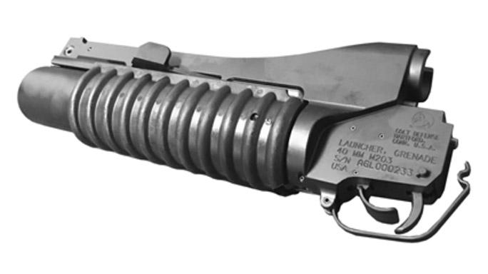 Colt M203 grenade launcher