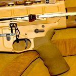 DRD Tactical Kivaari 300 Norma Magnum rifle grip and trigger