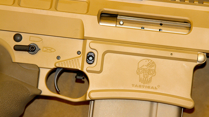 DRD Tactical Kivaari 300 Norma Magnum rifle controls