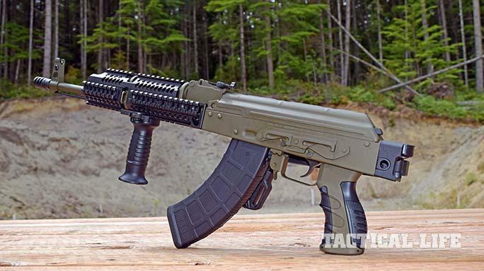 Definitive Arms DAKM-4150 rifle pistol grip