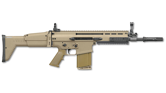 FN SCAR-SC carbine and SCAR 17 Standard CQC