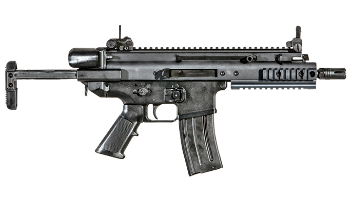 FN SCAR-SC carbine and SCAR PDW