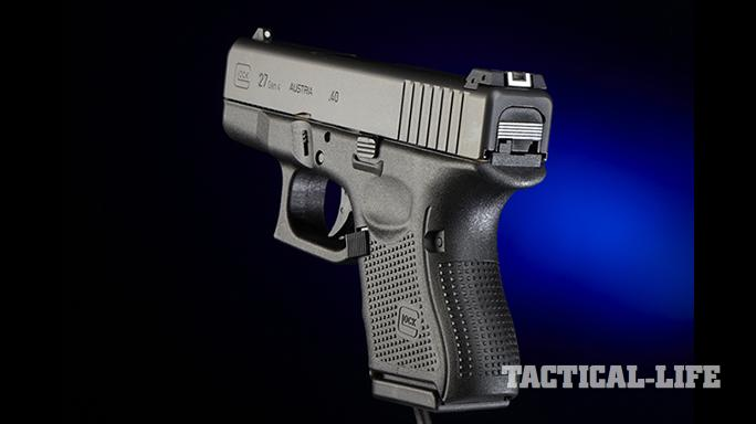 FBI supervisor stolen Glock rear angle