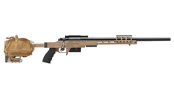 Kimber Advanced Tactical SOC II rifle with bag