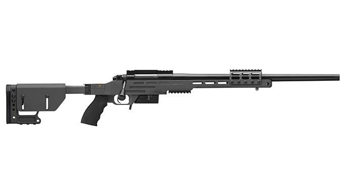 Kimber Advanced Tactical SOC II sniper gray rifle profile