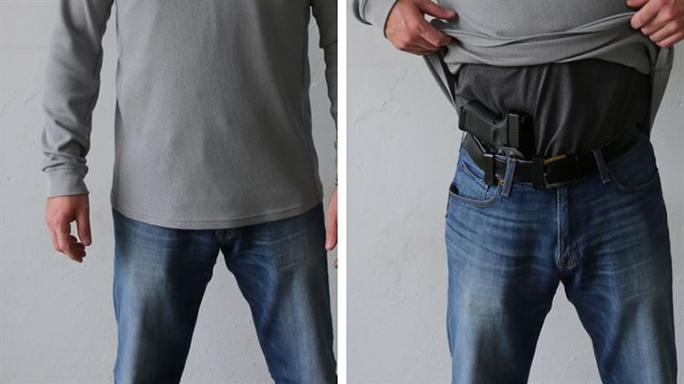 glock 19m m007 pistol concealed