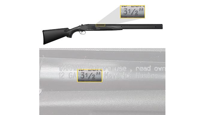 Mossberg Maverick Hunter shotgun recall