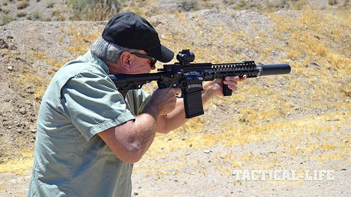 NG2 MAXFLO 3D suppressor test shot