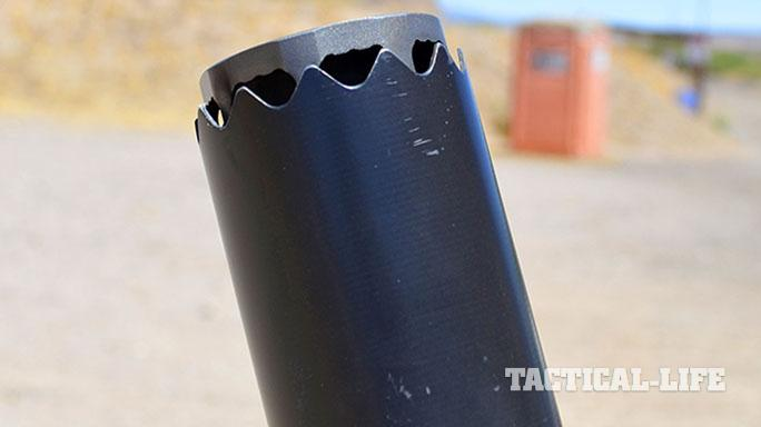 NG2 MAXFLO 3D suppressor closeup