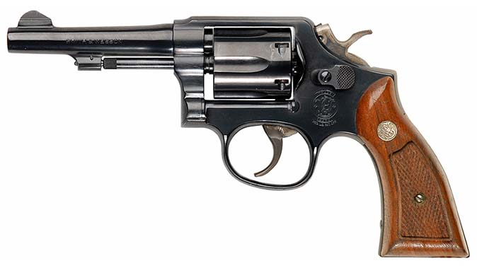 Smith & Wesson Model 10 service revolver