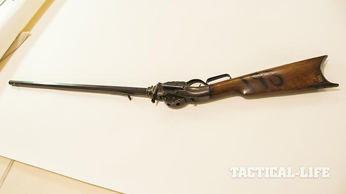 Porter Turret Rifle upside down