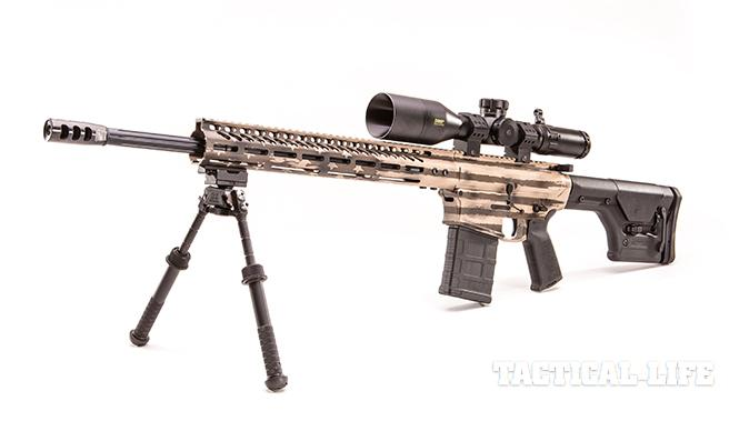 RTT-10 SASS rifle left angle