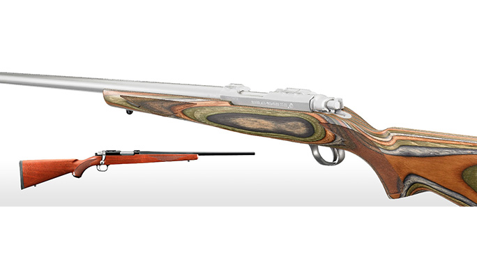 Remington Model 77/22 varmint hunting rifle
