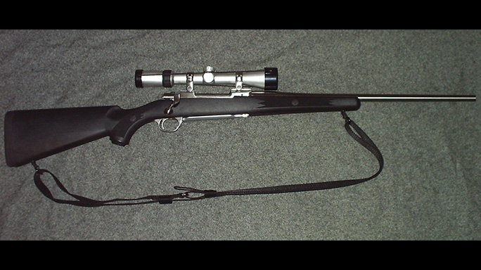 Ruger M77 Mark II Target varmint hunting rifle