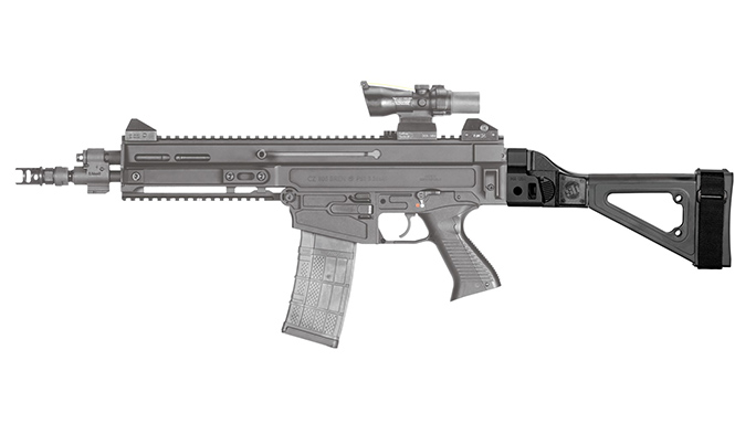 SB Tactical CZ 805 Bren S1 brace complete left profile