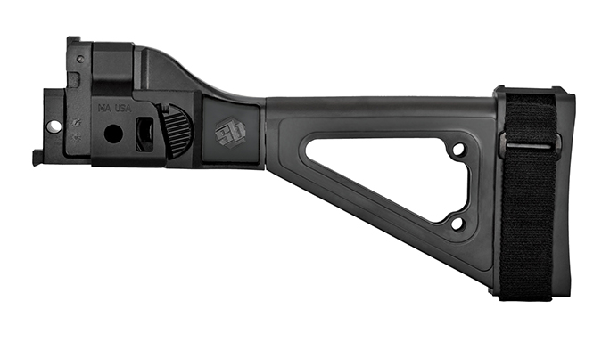 SB Tactical CZ 805 Bren S1 brace left profile